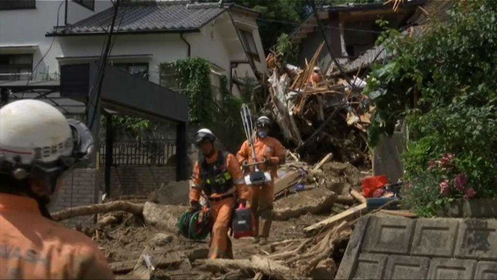 日本派逾七萬人搜救暴雨失蹤者