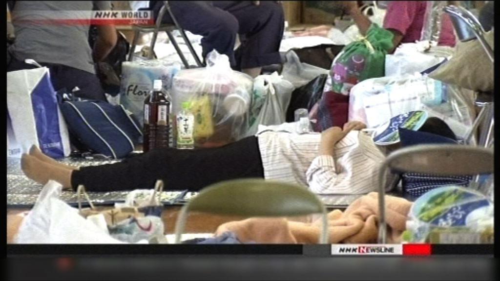 日本災區高溫潮濕 引起衛生問題