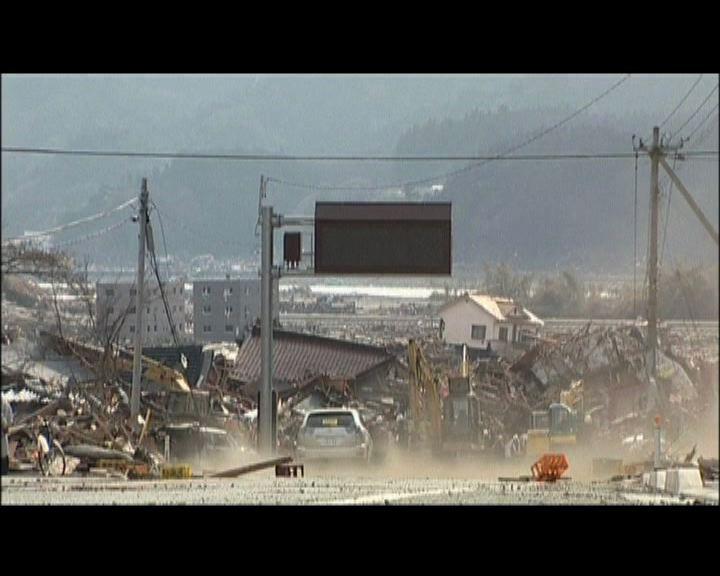 日本311大地震災區重建緩慢