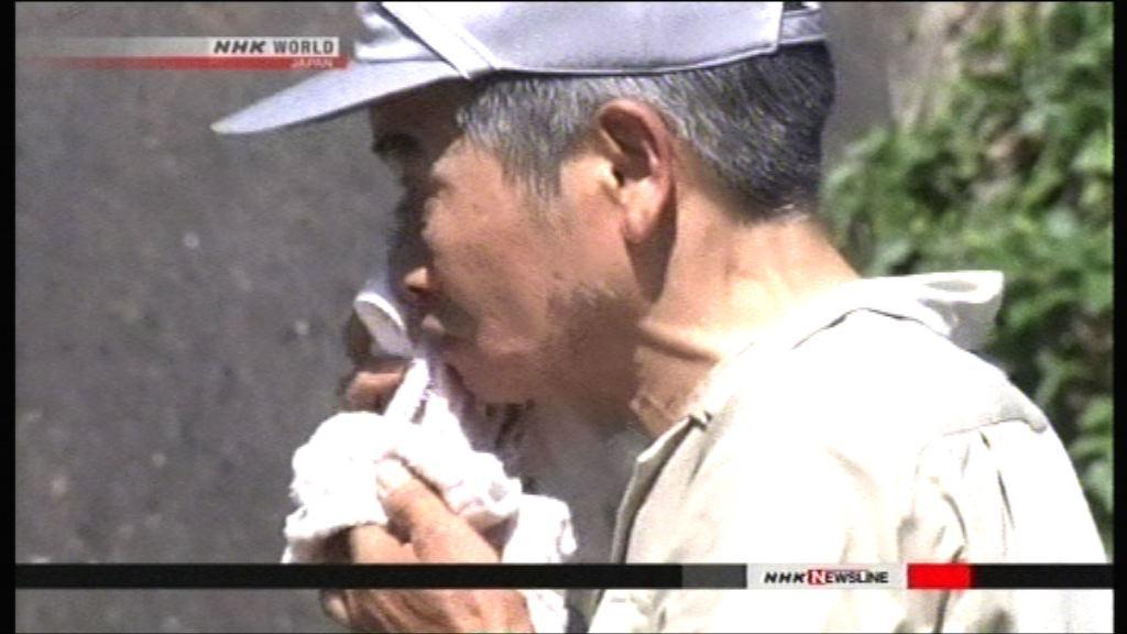 日本中西部災後高溫 過百人中暑
