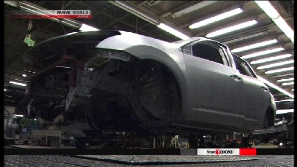日產暫停汽車生產線至少兩周
