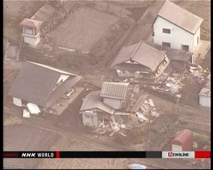 日本長野縣地震五十人受傷