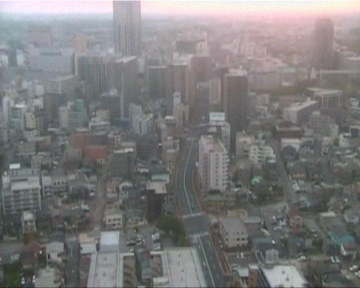 日本關東六級地震東京震感強烈