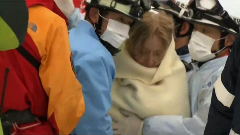 四名遊客於長野縣失蹤一天獲救