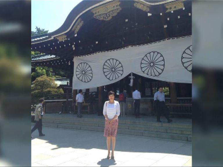 日揆夫人安倍昭惠參拜靖國神社