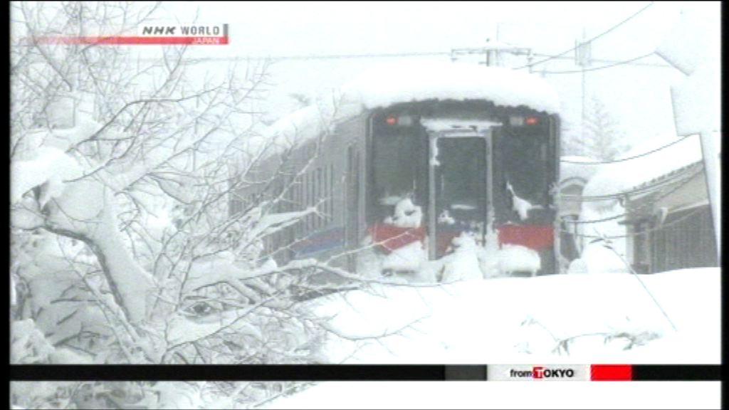 日本西部持續下大雪 岐阜縣一滑雪人士失蹤