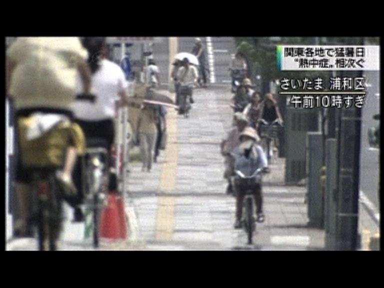 日本過去一周逾萬人中暑送院