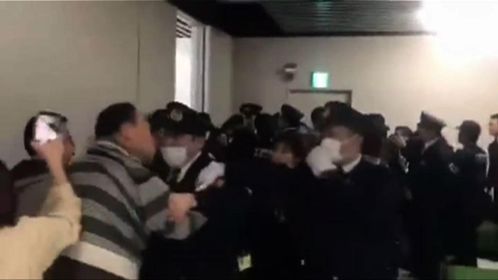 中國旅客成田機場與警員衝突
