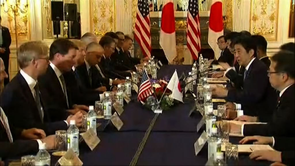 美日首腦同意向北韓施加最大壓力