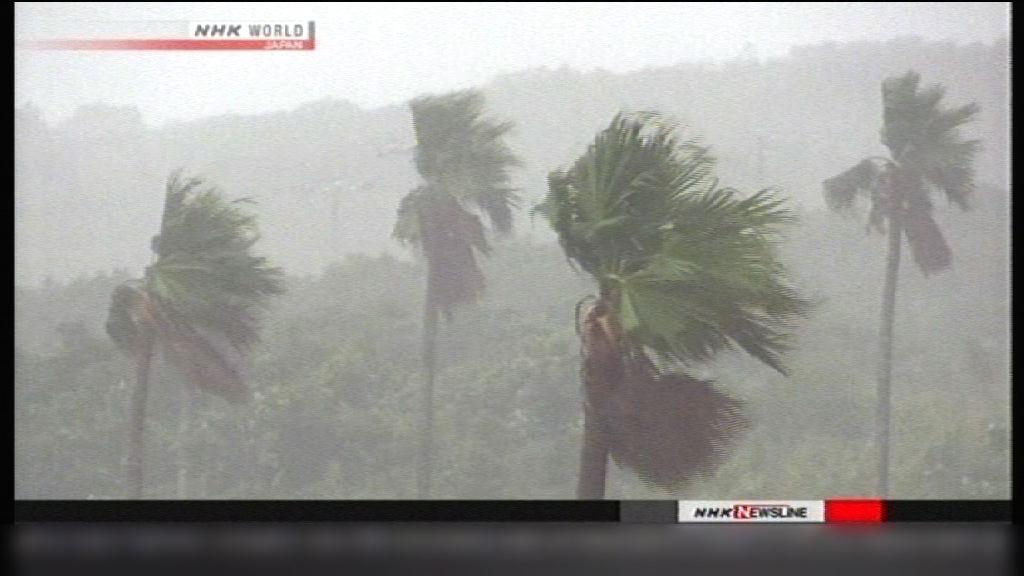 料颱風雲雀稍後登陸日本東海地區