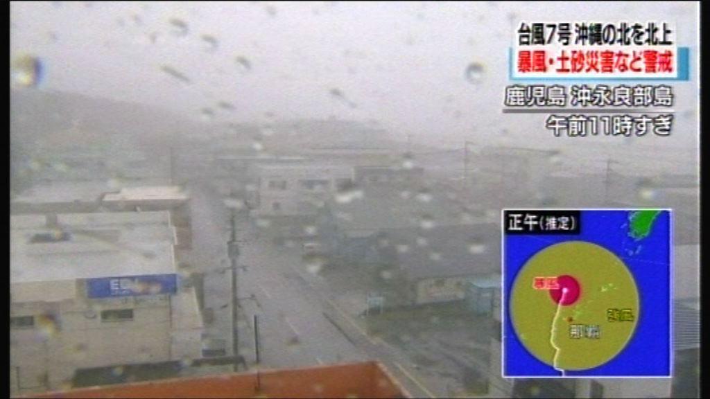 颱風派比安即將威脅日本西部九州及四國等地