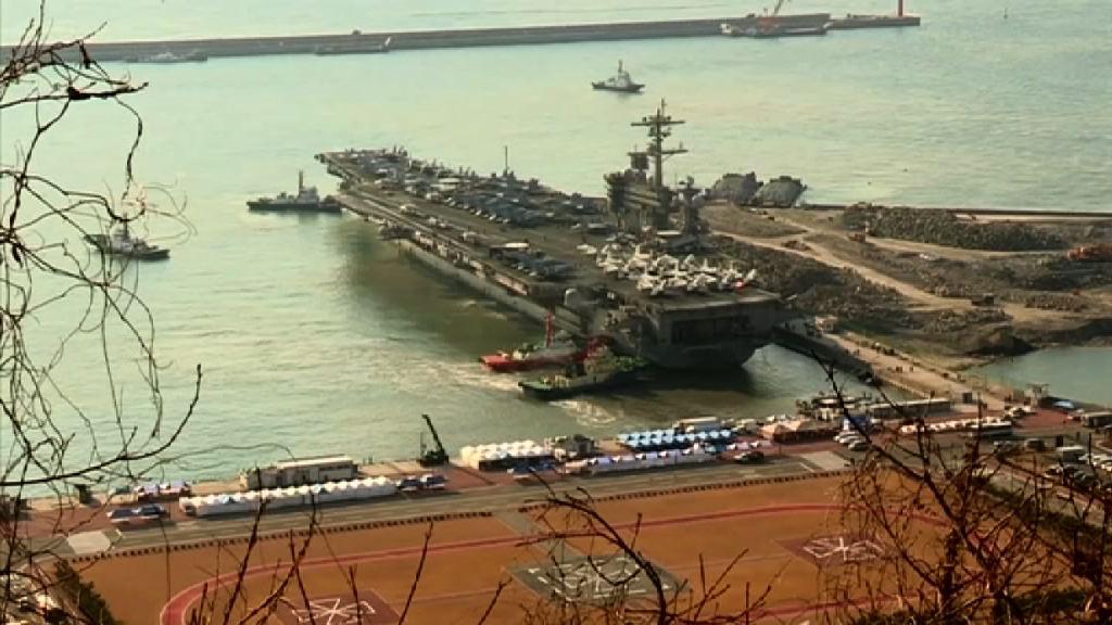 北韓揚言人民軍隨時準備擊沉美軍航母