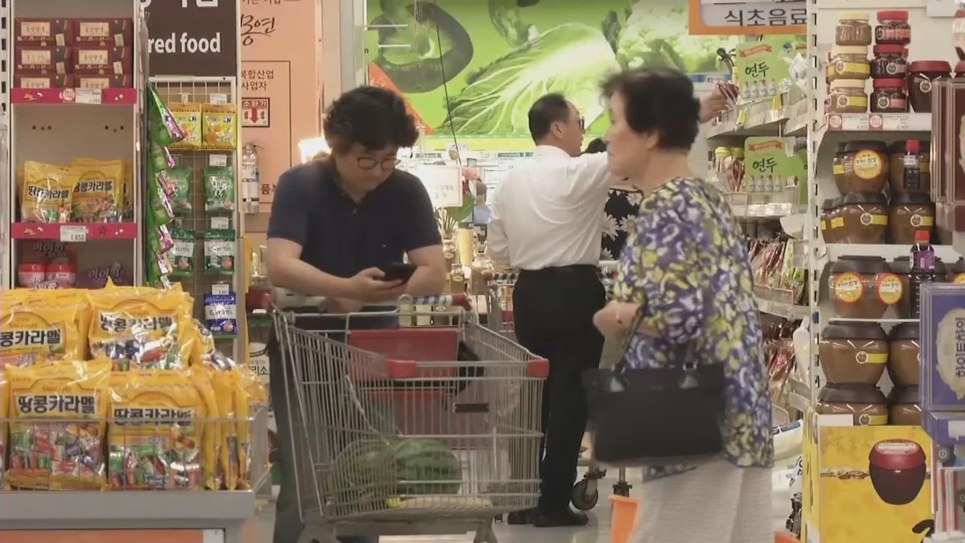 南韓多間店鋪發起抵制日本商品行動