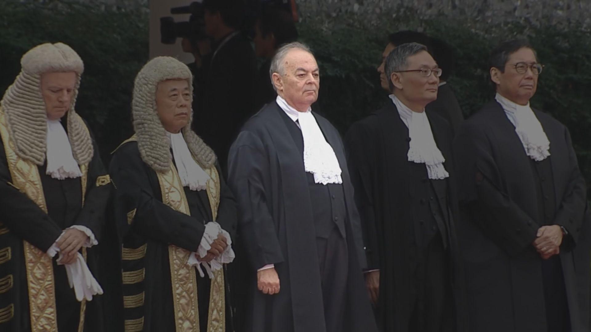 澳媒:施覺民辭任終院非常任法官或與港區國安法有關