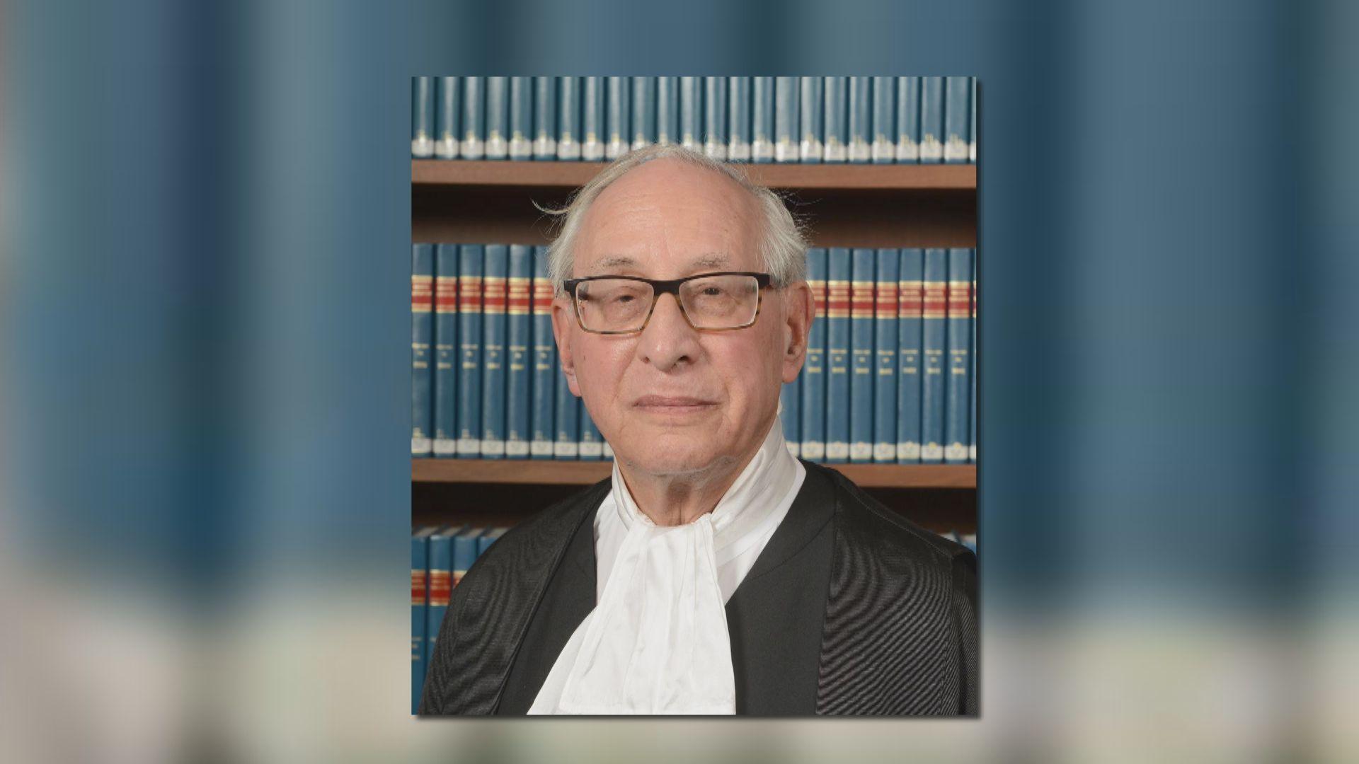 司法機構指苗禮治仍是終院海外非常任法官