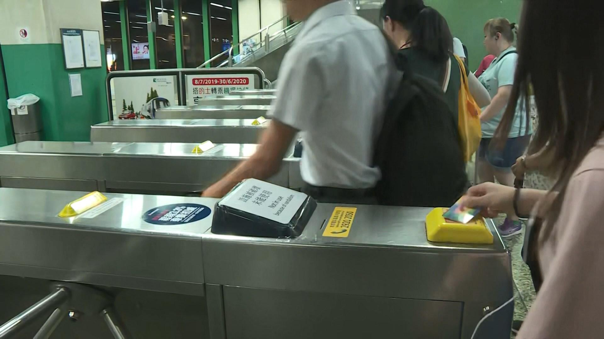 港鐵全綫車站今早重開 列車服務正常