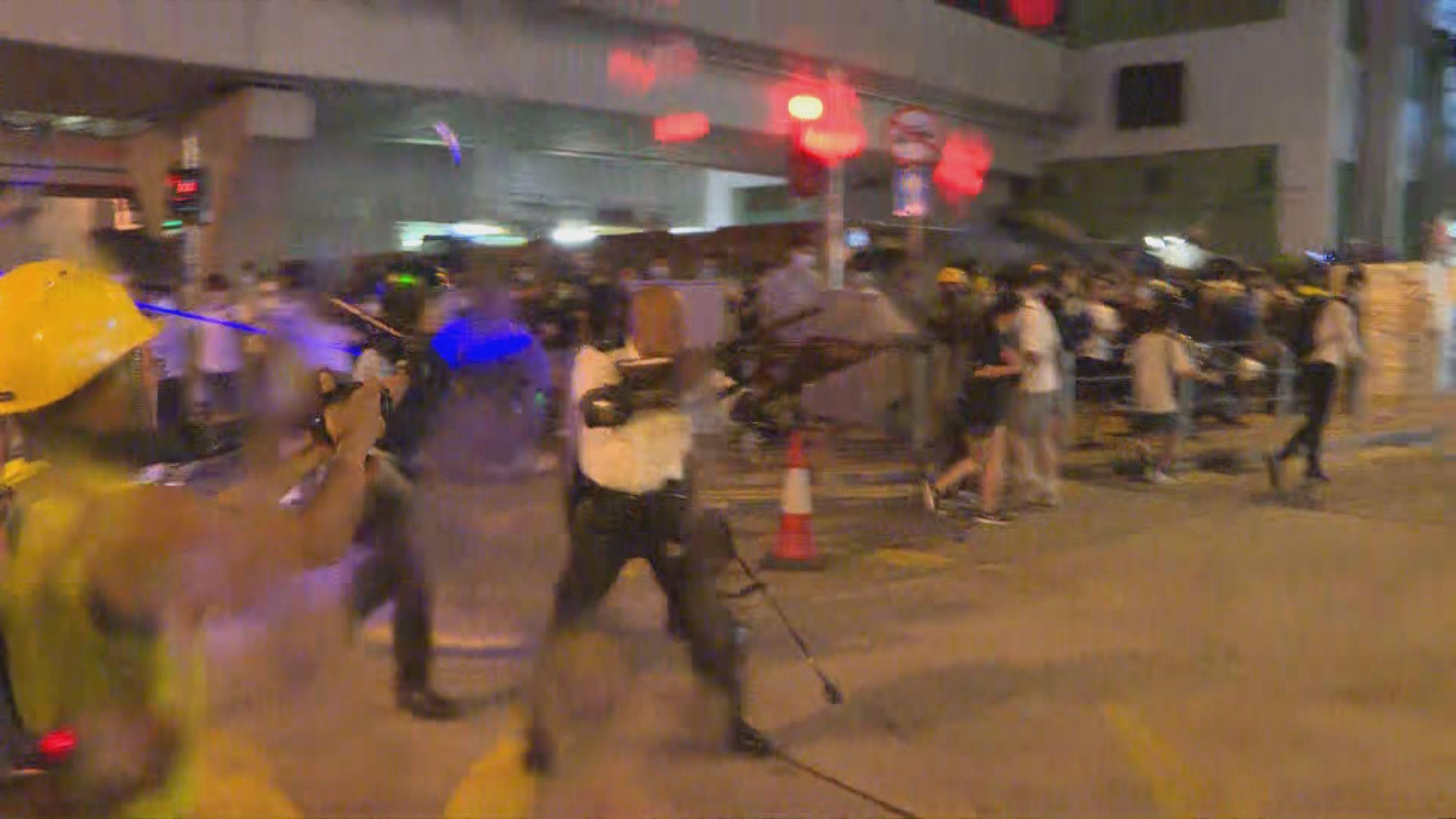 警方譴責昨日葵涌及天水圍一帶暴力行為