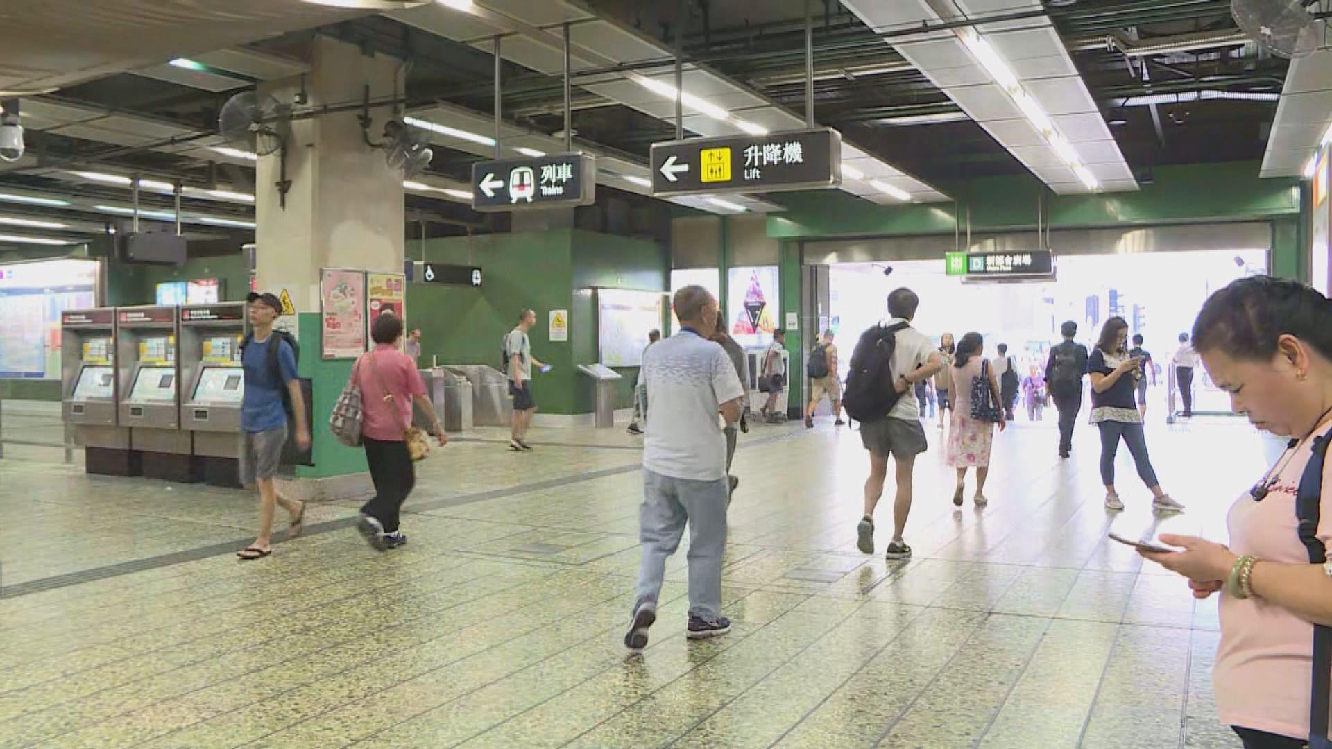 葵芳站重開 列車恢復上落客