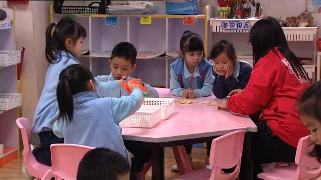 免費幼教容許收資助額三成學費