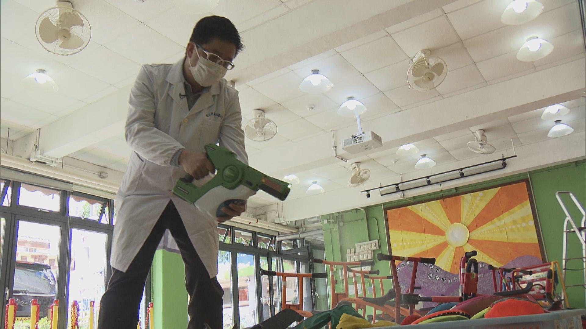 有幼稚園以智能殺菌塗層消毒 為學童重返校園做好準備