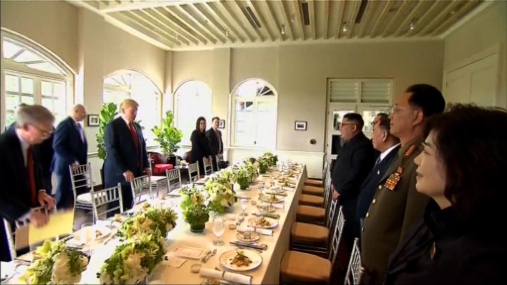 美朝峰會 特朗普:即將舉行簽署儀式
