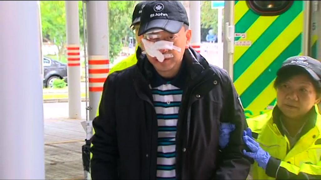 高永文參與賽跑活動受傷送院