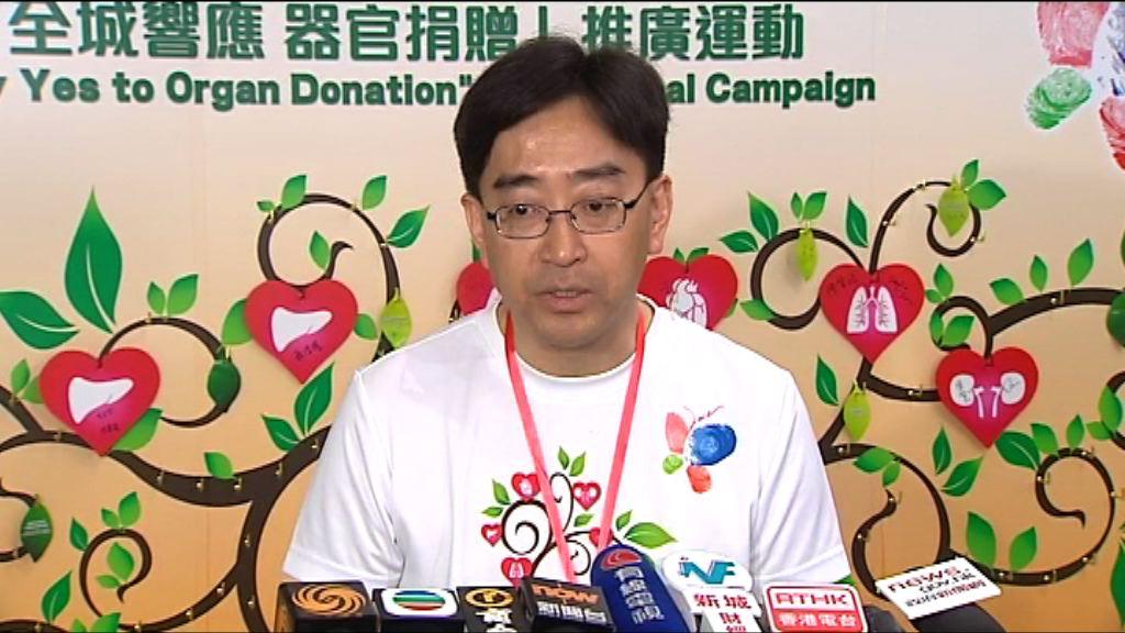 高永文:鄧桂思需要用人工肺