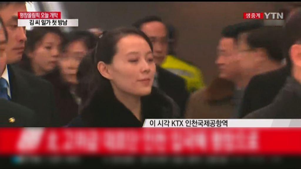 北韓冬奧高級別代表團抵南韓