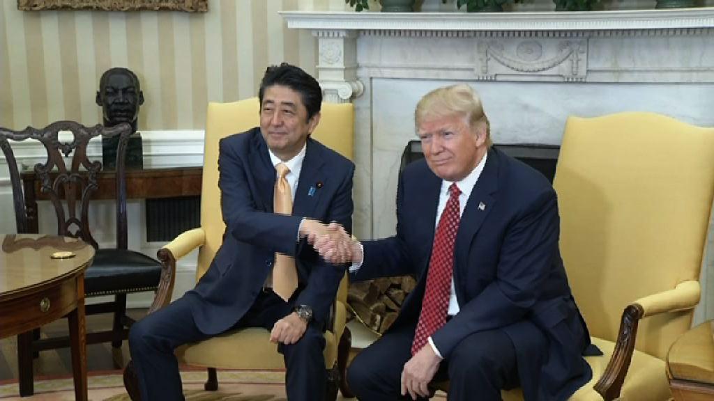 日美領袖指北韓試射導彈屬挑釁行為
