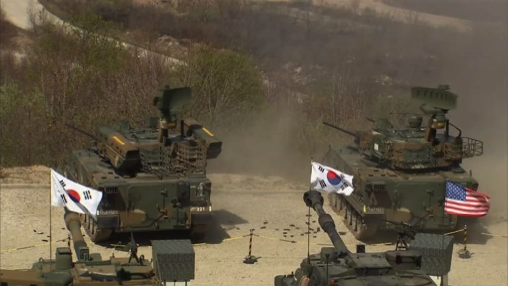 美韓今展開「鷂鷹」聯合軍演