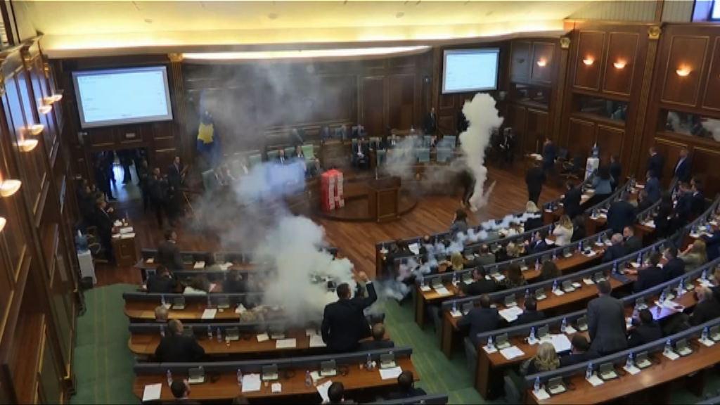 科索沃議會表決黑山邊界協議遭阻撓