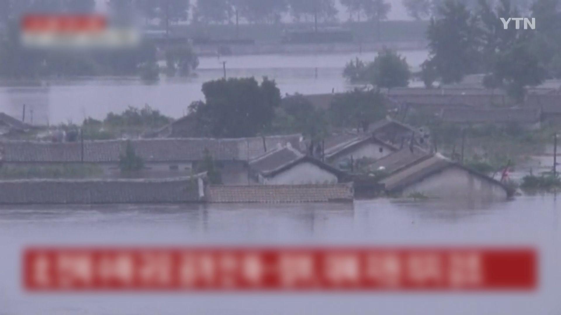 熱帶風暴薔薇登陸南韓東南部 鄰國北韓亦暴雨成災