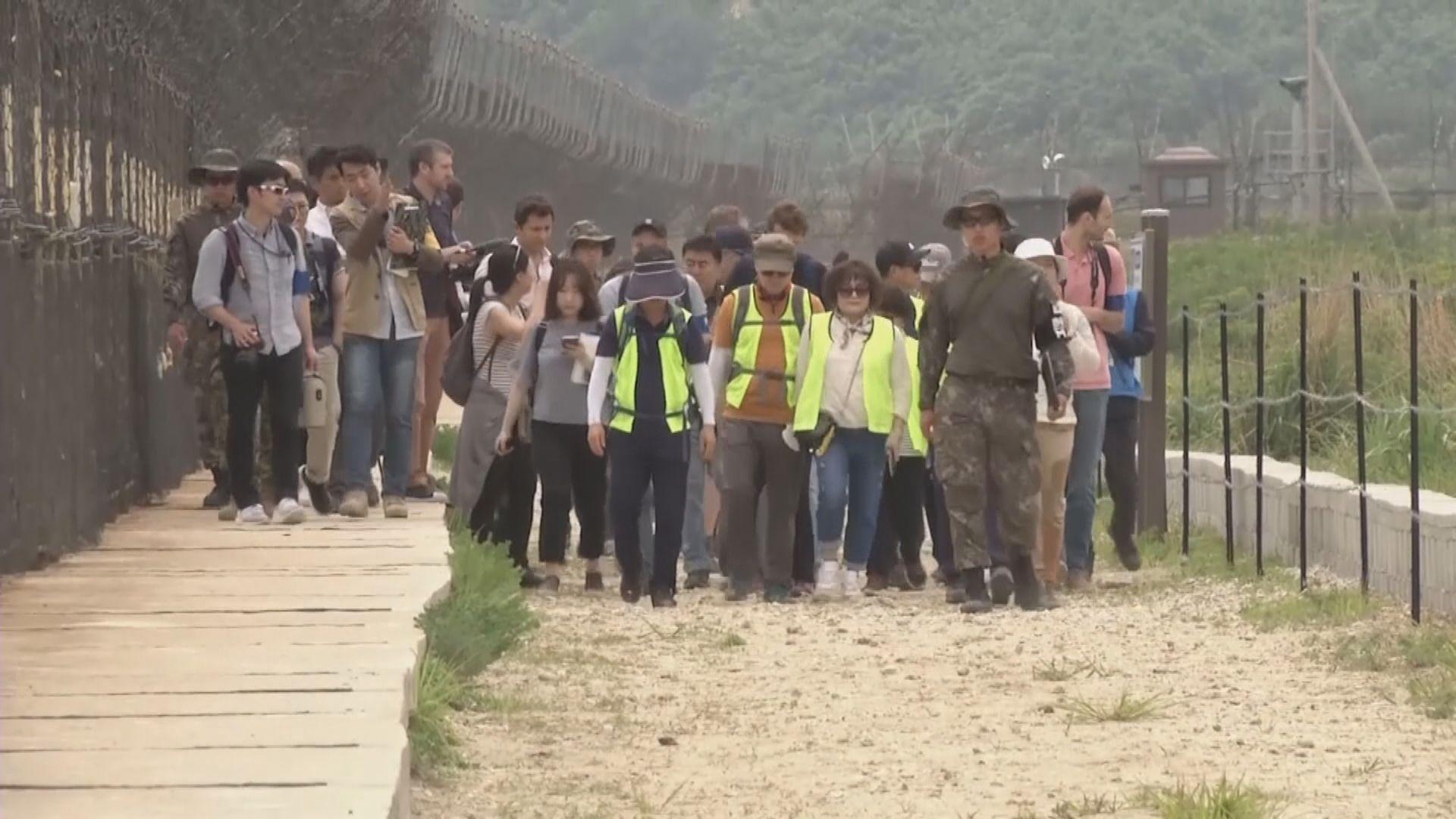 南韓開放邊境非軍事區給民眾遊覽