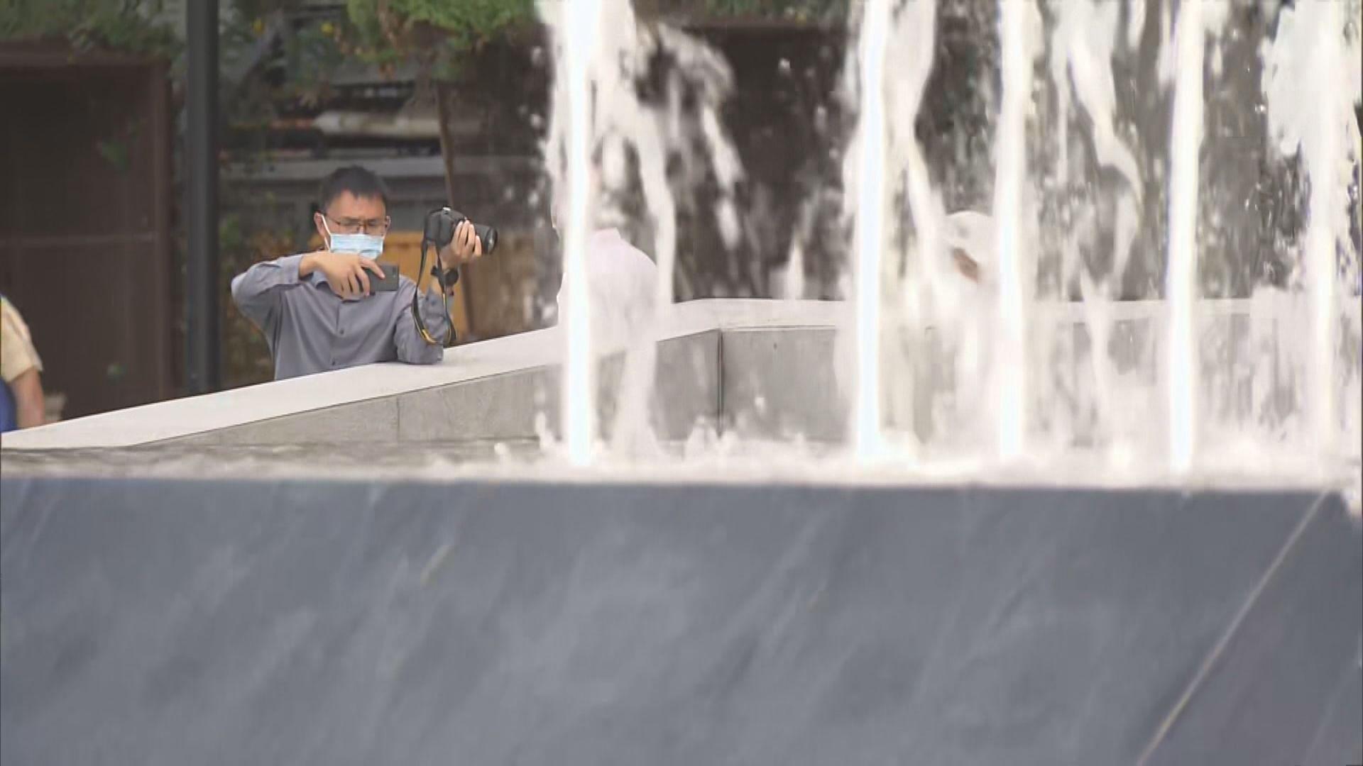 耗資逾五千萬元觀塘海濱花園音樂噴泉啟用