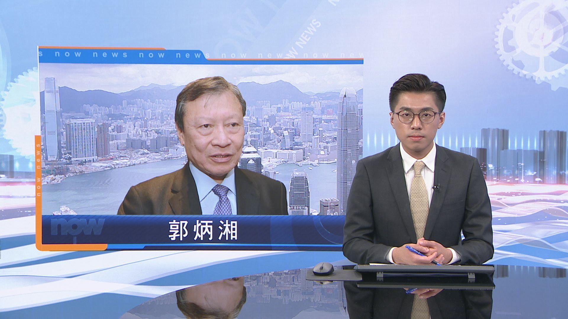 郭炳湘暈倒送院 多位醫生正評估其情況