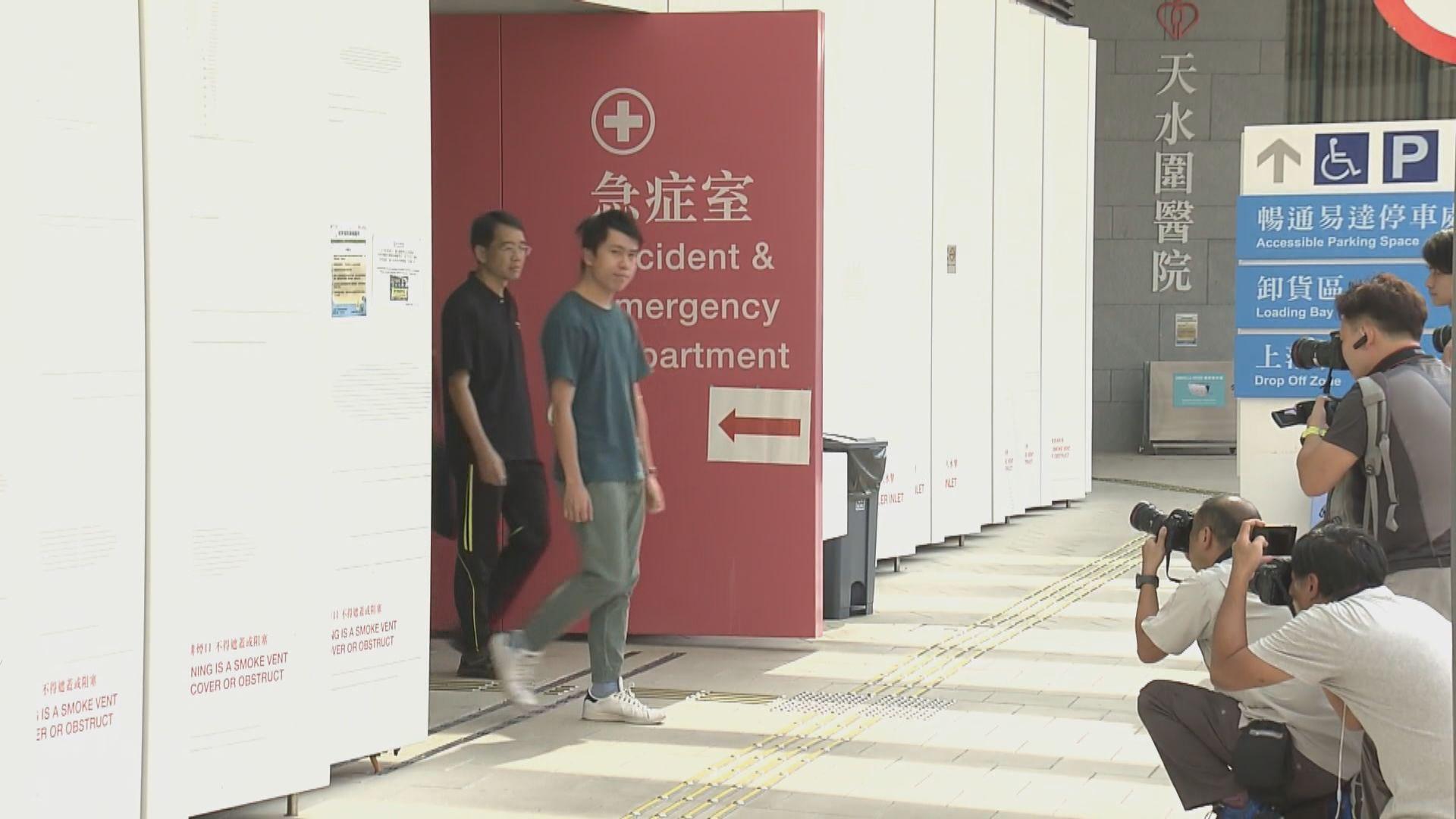 鄺俊宇遇襲 警方翻看附近閉路電視