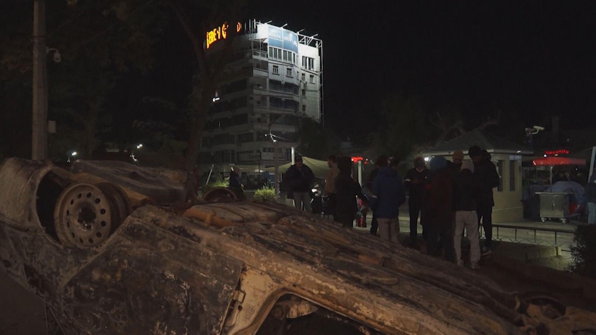 吉爾吉斯爆示威不滿國會選舉舞弊 最少一死近七百人傷