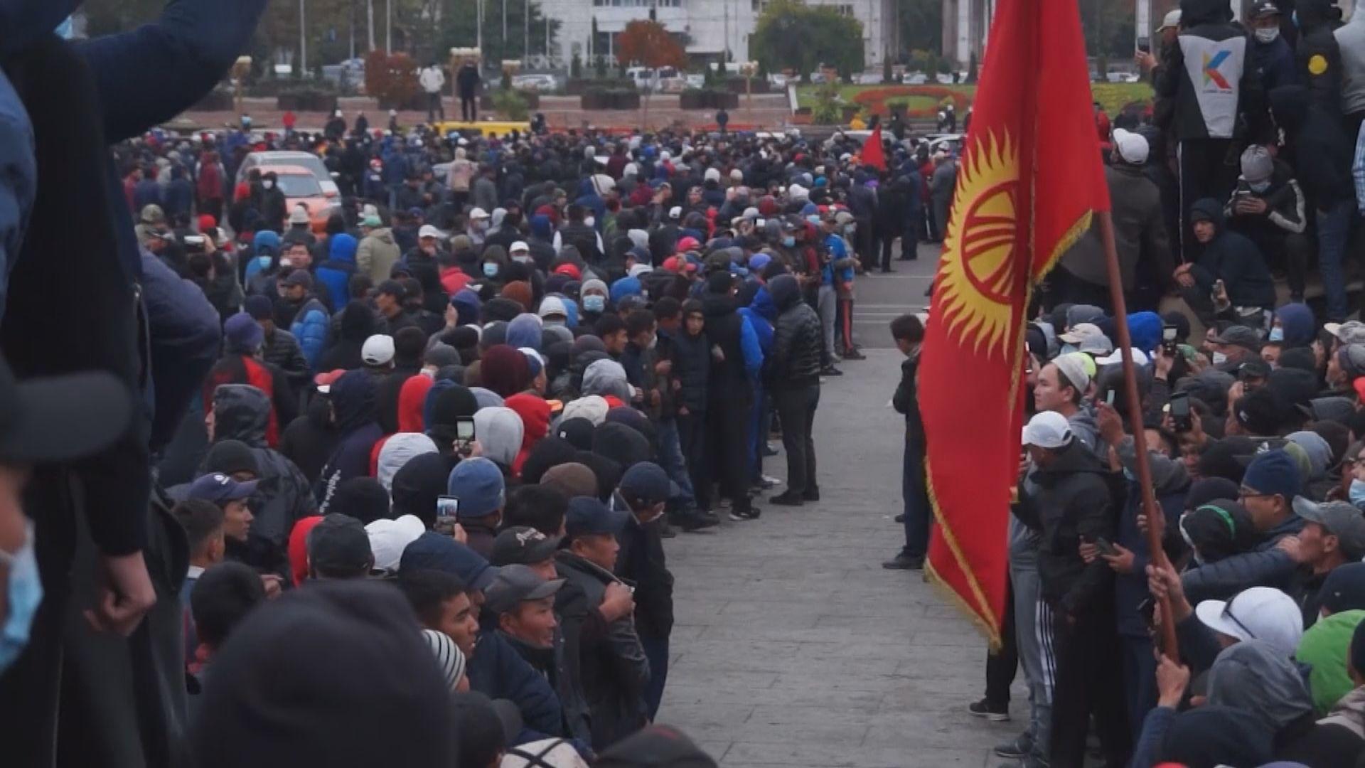 吉爾吉斯反對派聲稱已奪政權 選委會宣布廢除選舉結果