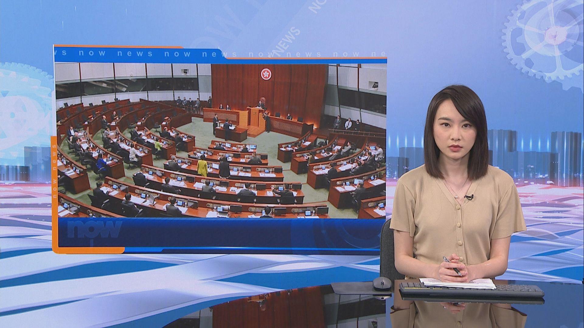 國歌法二讀 梁君彥拒絕休會待續辯論港區國安法