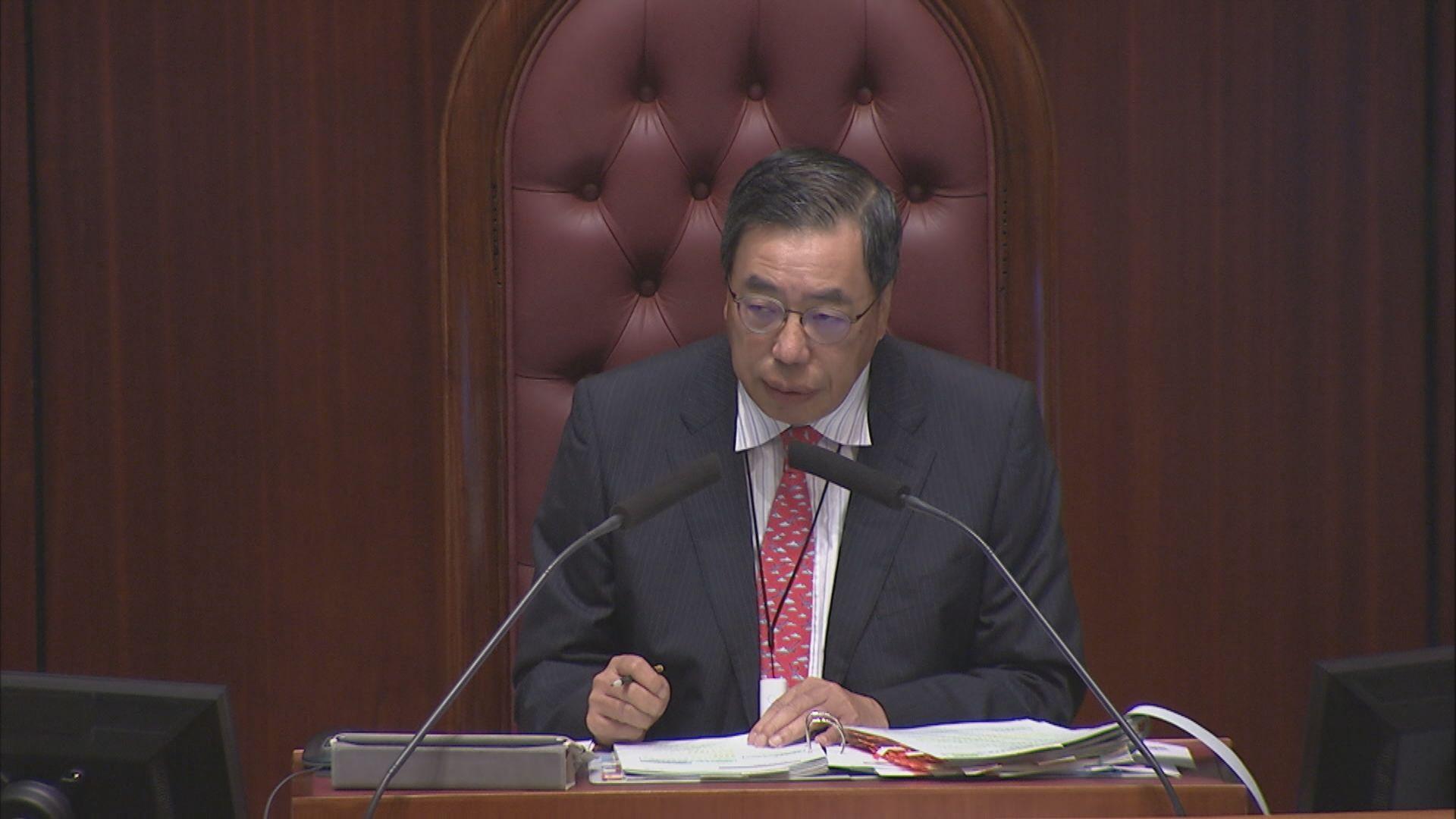 國歌條例草案全委會階段 民主派不滿梁君彥減審議時間