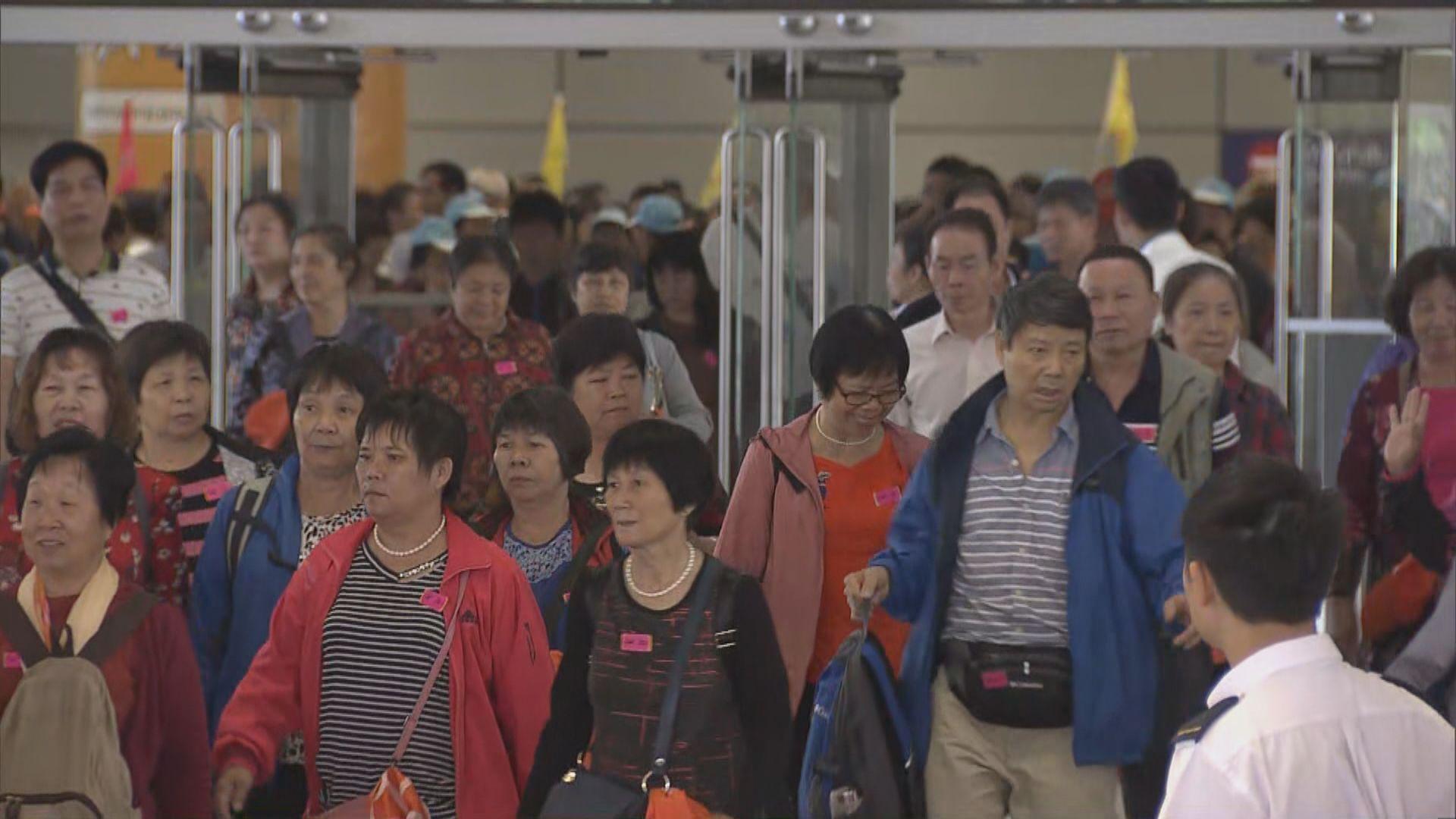 運輸署放寬旅遊巴在大橋香港口岸上客安排