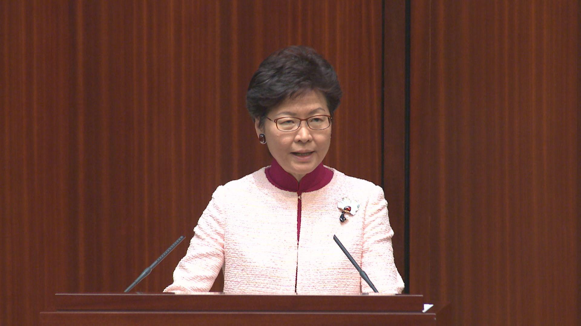 林鄭:與深圳當局對沙頭角邊界有不同理解