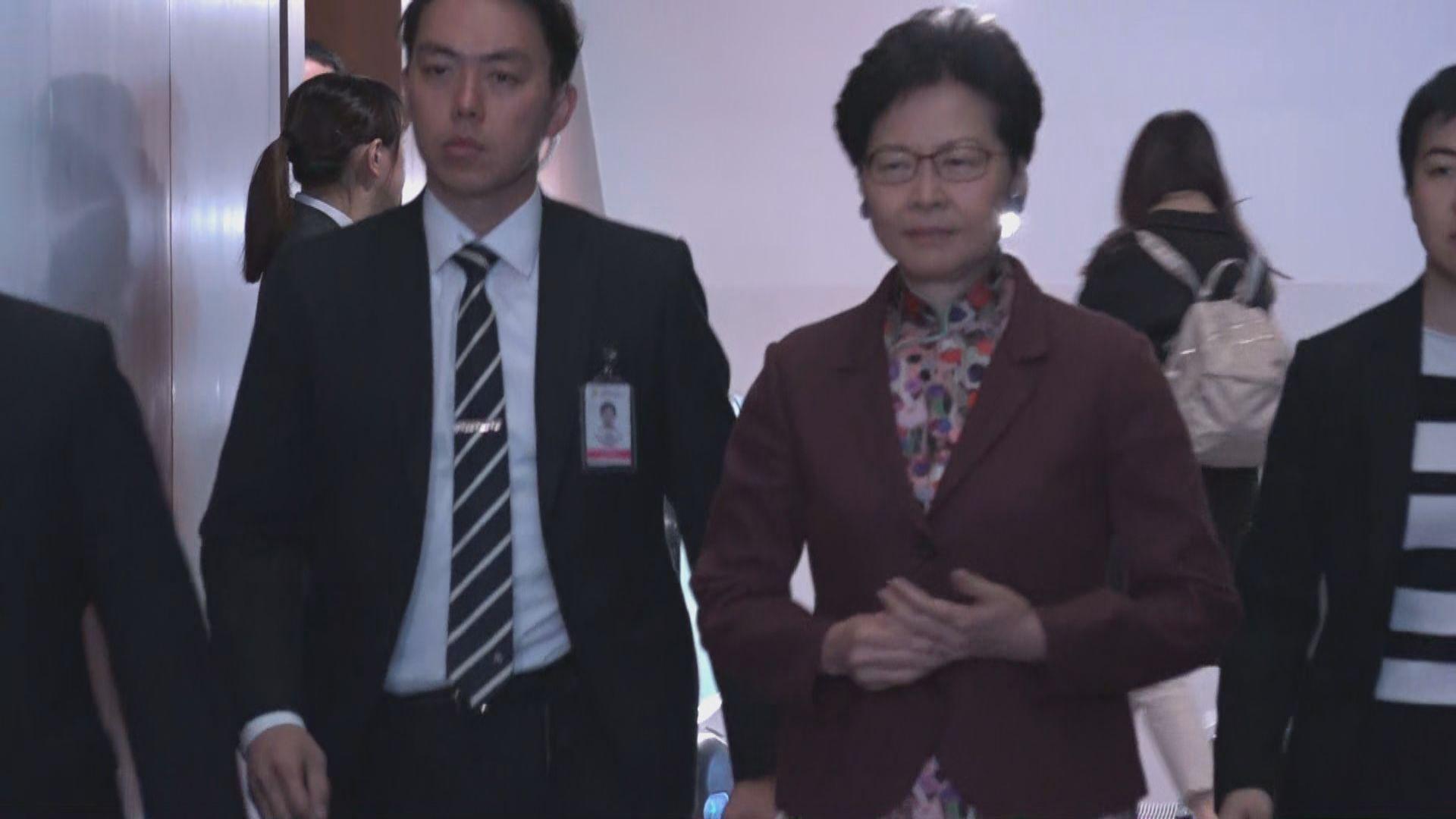 陳志全促下台 林鄭:會繼續努力服務市民