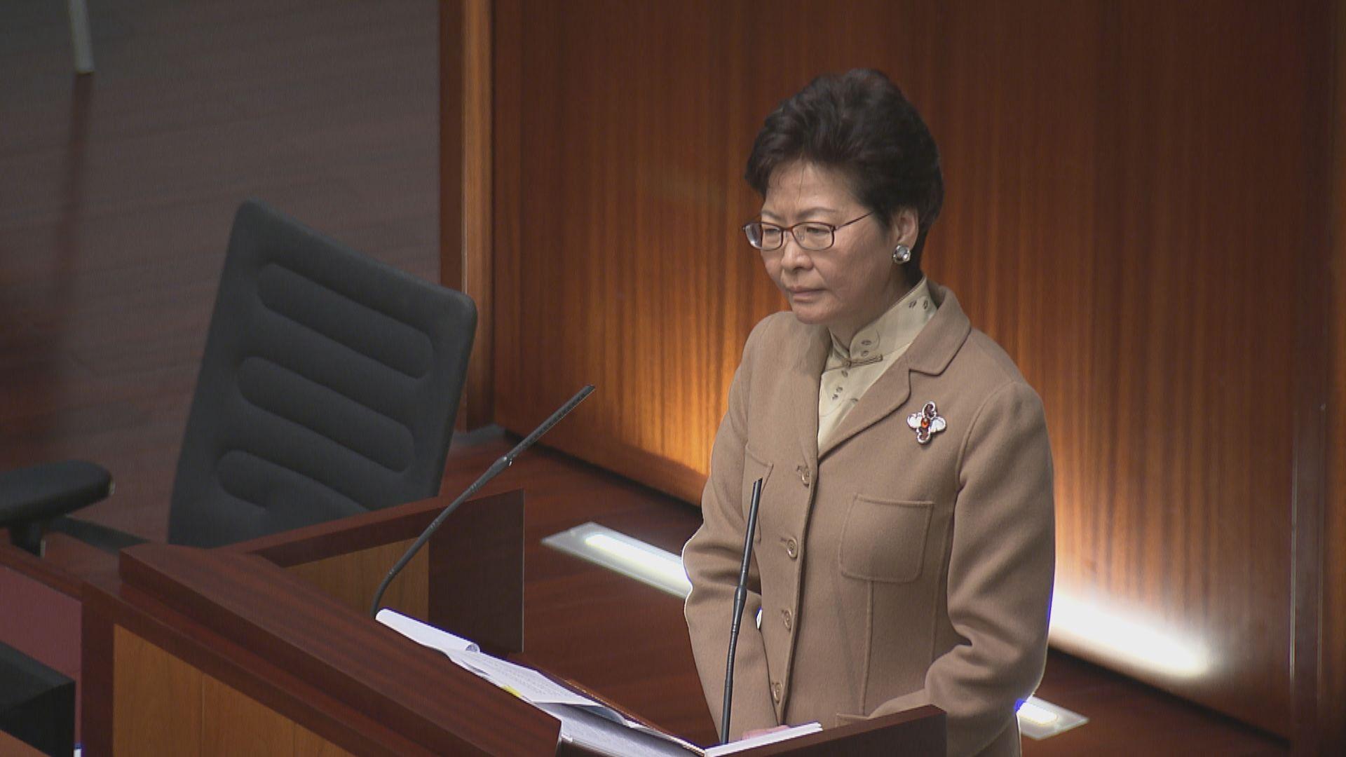 林鄭:要求重新檢視UGL案會被視為干預