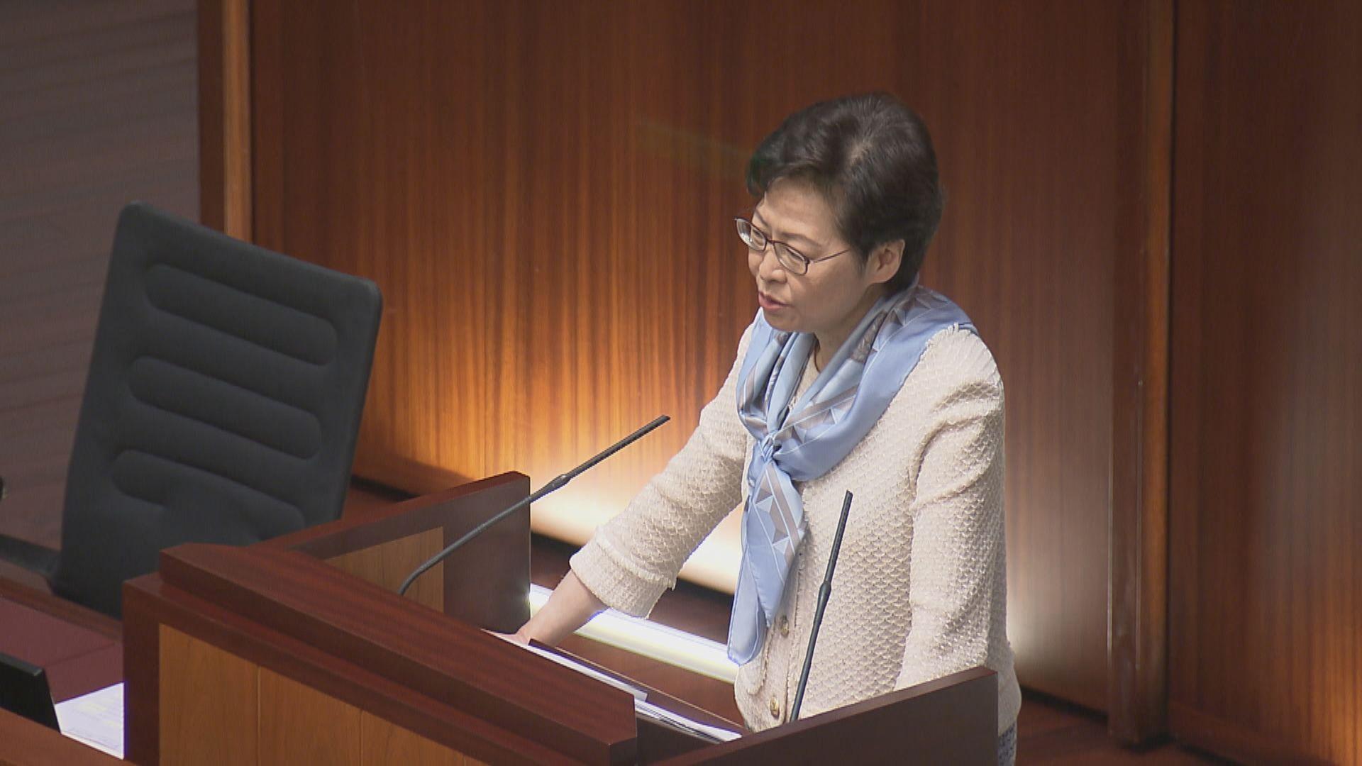 林鄭建議立法會先成立小組委員會討論人大決定