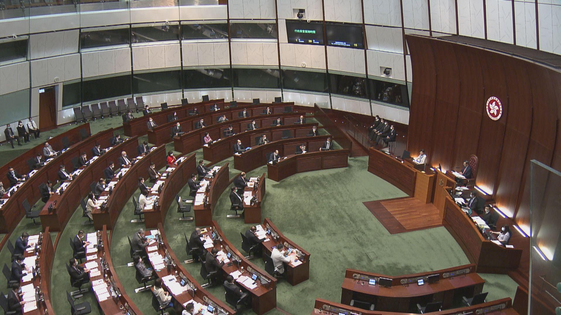 林鄭建議立法會暫緩其他法案 先處理修改選舉辦法