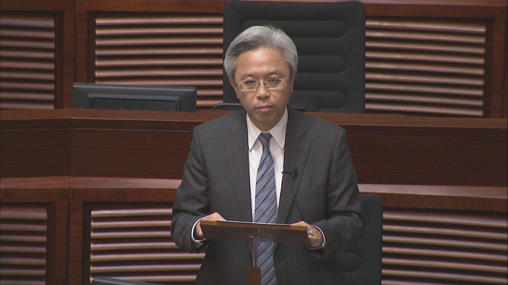 羅智光:公務員被捕後停職不牴觸無罪推論