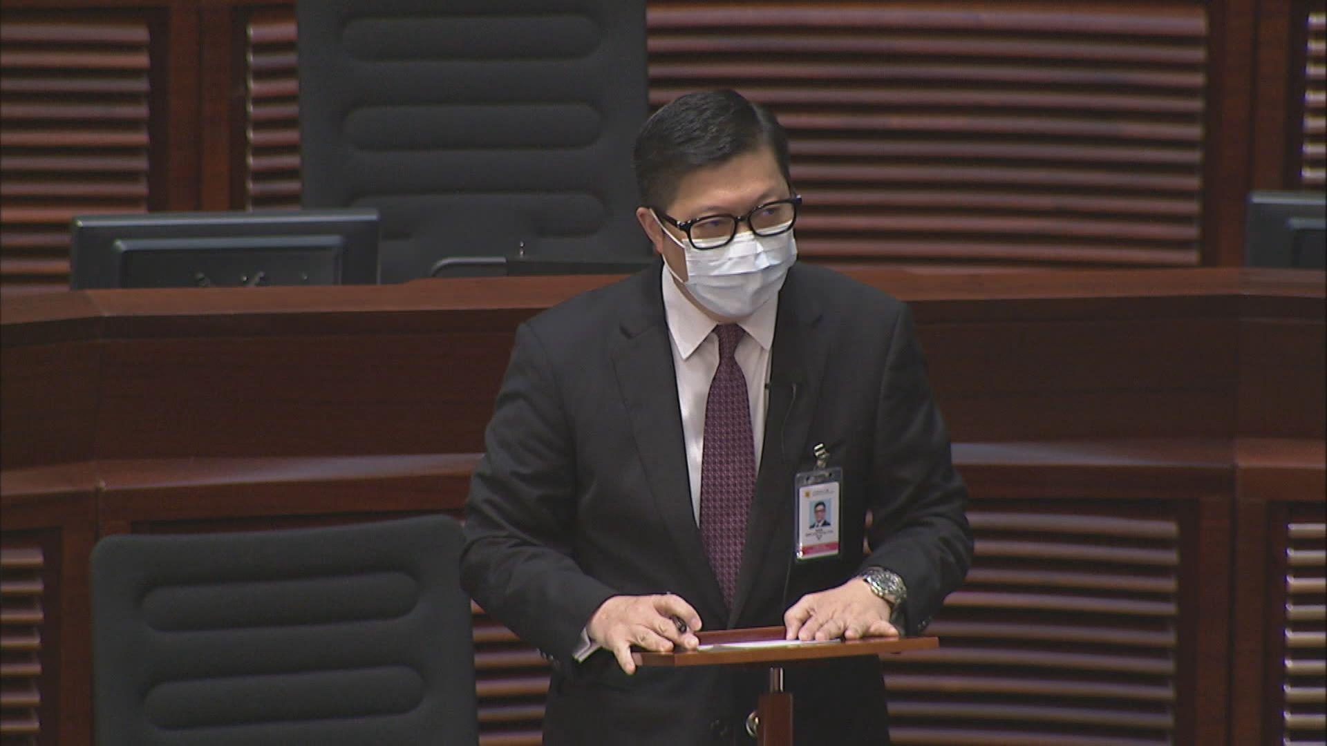 鄧炳強:民陣解散不會抹去刑責