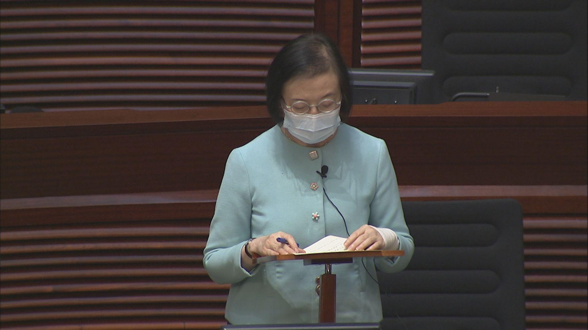 陳肇始:已提升粵港澳健康碼轉碼系統 通關安排落實後可即使用