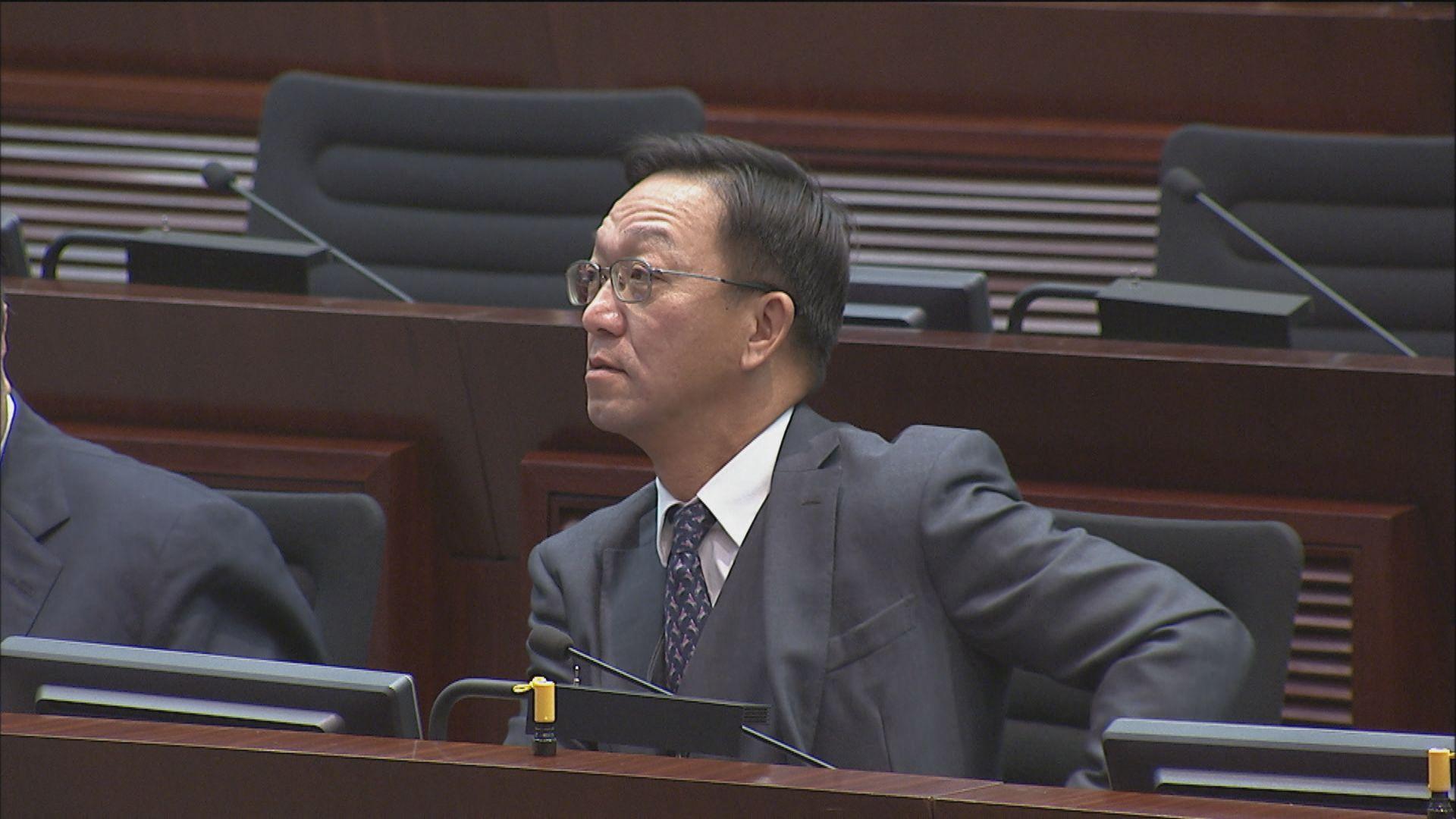 政制事務委員會副主席由經民聯劉業強當選